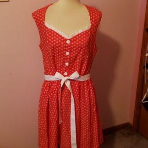 Retrolicious Size 1x Love Bug Valentine's Dress